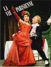 Suzy Delair & Pierre Bertin jouent dans l'Opéra-Bouffe la Vie Parisienne