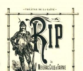 Affiche pour la fiche sur Rip de Robert Planquette